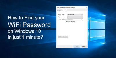 How To See Wi-Fi Password in Windows 10